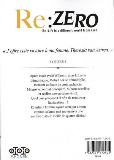 Dos Re : Zero - Troisème arc : truth of zero tome 7