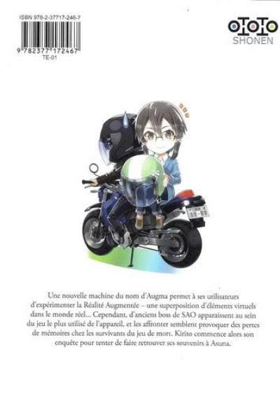 Dos Sword art online - ordinal scale tome 3