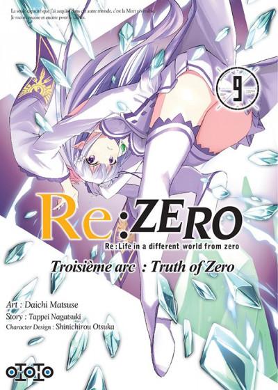 Couverture Re : Zero - Troisème arc : truth of zero tome 9