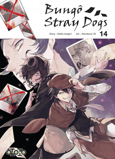 Couverture Bungô stray dogs tome 14