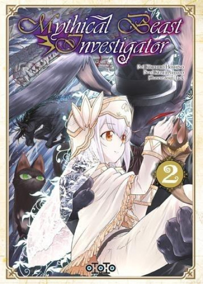 Couverture Mythical beast investigator tome 2