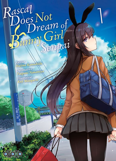 Couverture Rascal does not dream of bunny girl senpai tome 1