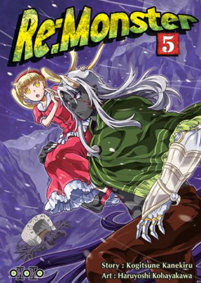 Couverture Re : monster tome 5