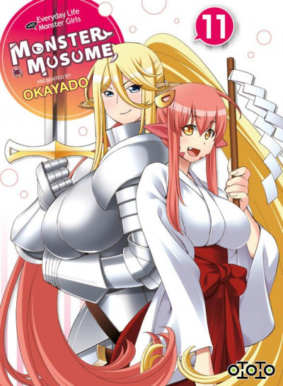 Couverture Monster musume tome 11
