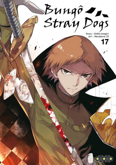 Couverture Bungô stray dogs tome 17