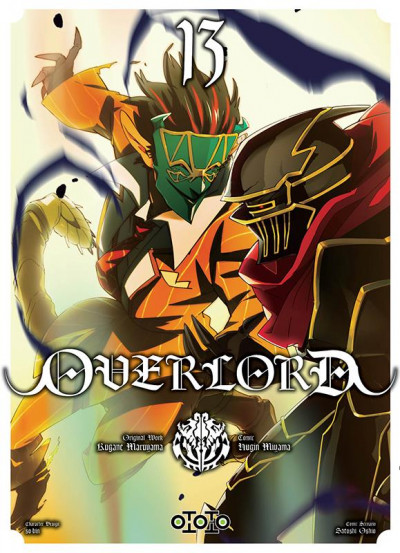 Couverture Overlord tome 13