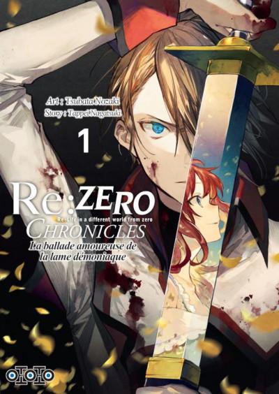 Couverture Re : Zero chronicles tome 1
