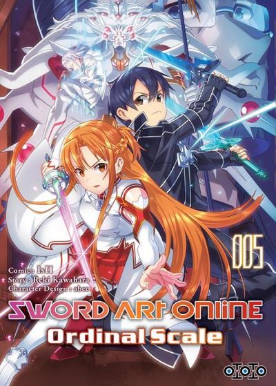 Couverture Sword art online - ordinal scale tome 5