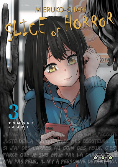 Couverture Mieruko-Chan - slice of horror tome 3