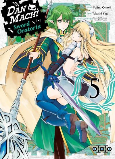 Couverture Danmachi sword oratoria tome 5