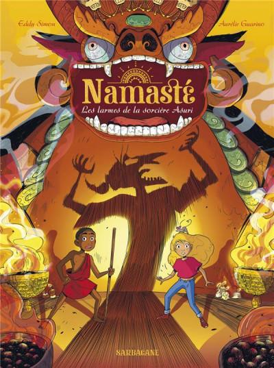 Couverture Namasté tome 3