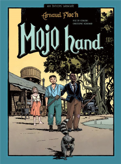 Couverture Mojo hand