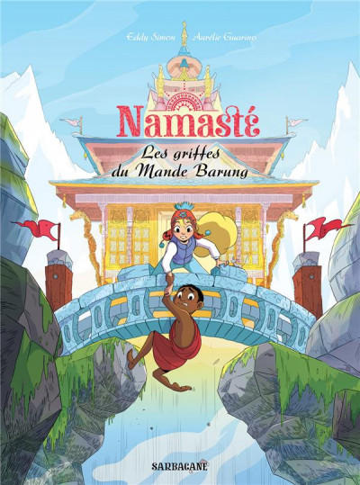 Couverture Namasté - Les griffes du mande Barung