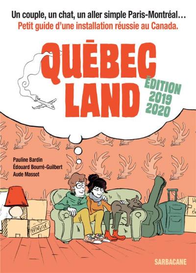Couverture Québec land (édition 2019)
