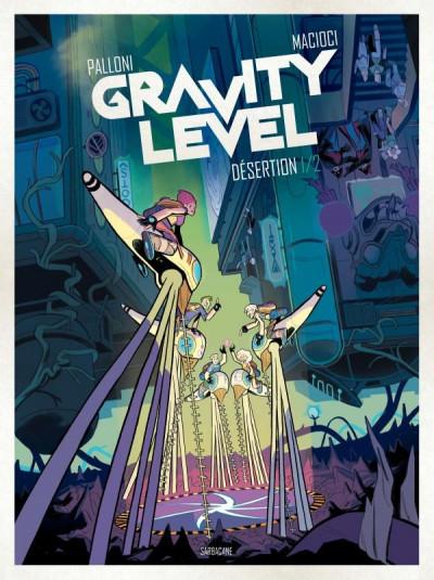 Couverture Gravity level volume 1