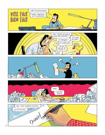 Page 1 Un auteur de BD en trop