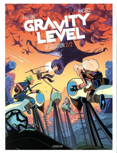 Couverture Gravity level tome 2