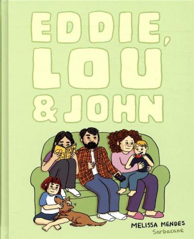 Couverture Eddie, Lou et John