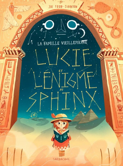Couverture Lucie et l'énigme du sphinx