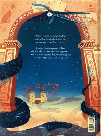 Dos Lucie et l'énigme du sphinx