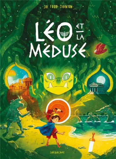 Couverture Léo et la méduse