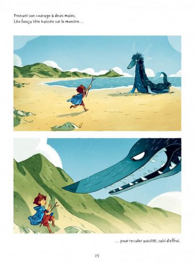 Page 6 Léo et la méduse