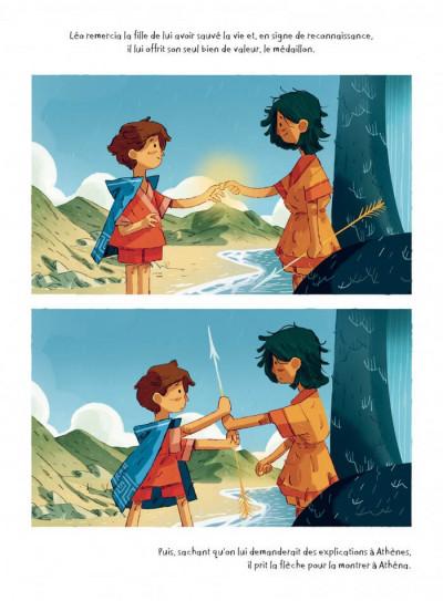 Page 8 Léo et la méduse