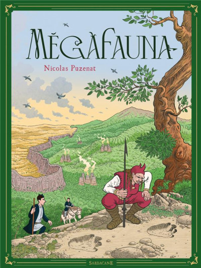 Couverture Megafauna