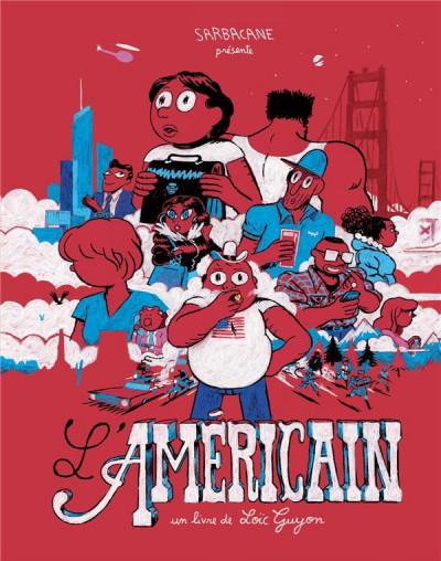 Couverture L'americain