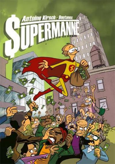 Couverture Supermanne - Et si Superman avait été comptable ?