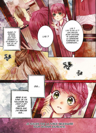 Page 1 Scarlet soul tome 1
