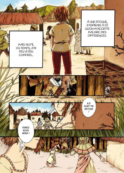 Page 4 Wandering souls tome 1