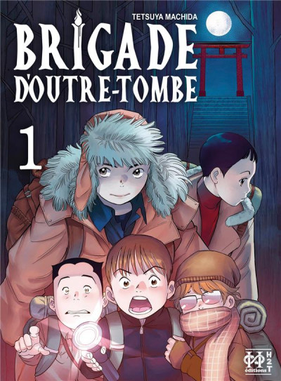 Couverture Brigade d'outre-tombe tome 1