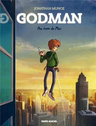 Couverture Godman - Au nom de moi