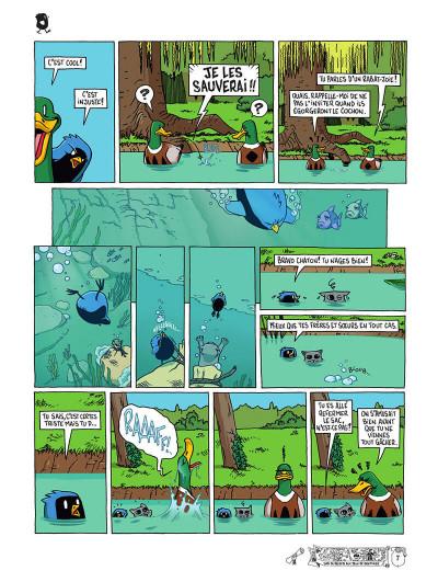 Page 0 Poussin bleu tome 1