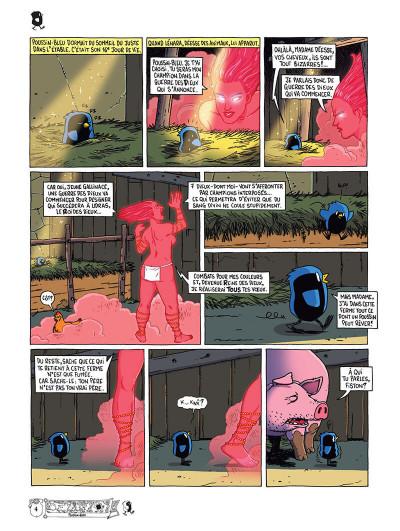 Page 7 Poussin bleu tome 1