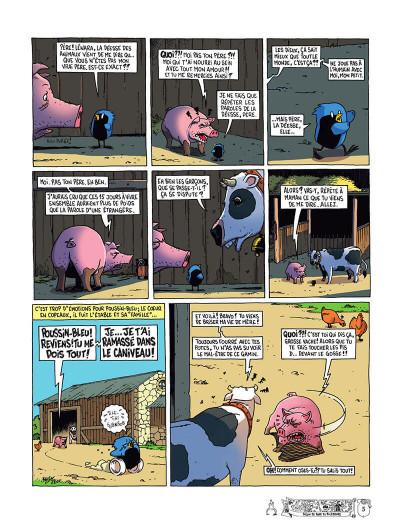 Page 8 Poussin bleu tome 1