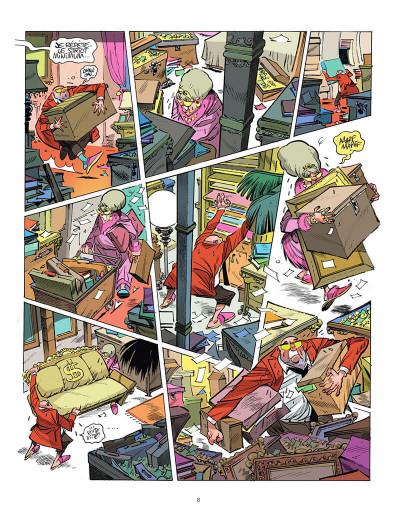 Page 9 La planète des riches tome 2