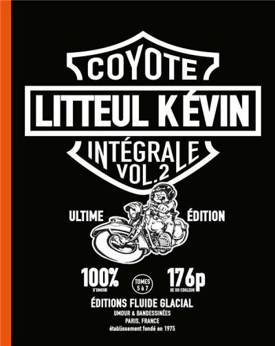 Couverture Litteul Kévin intégrale tome 2
