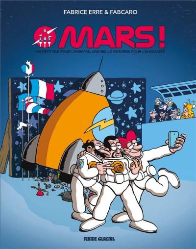 Couverture Mars (édition 2018)