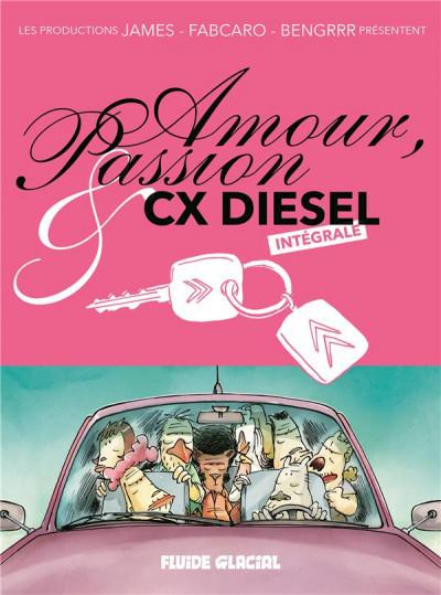 Couverture Amour et passion CX diesel - intégrale édition 2018