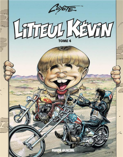 Couverture Litteul Kevin tome 4