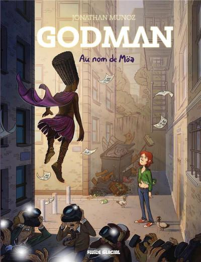 Couverture Godman tome 2