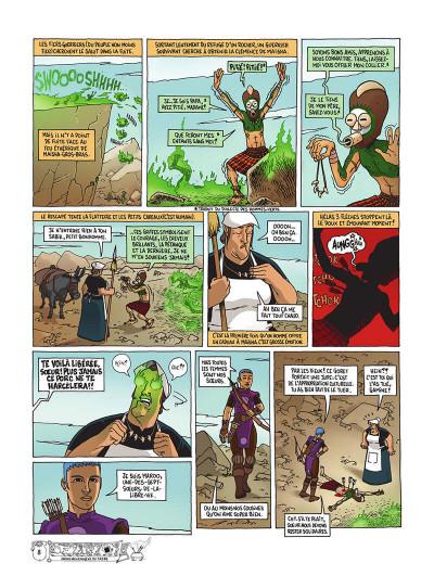 Page 9 Poussin bleu tome 2