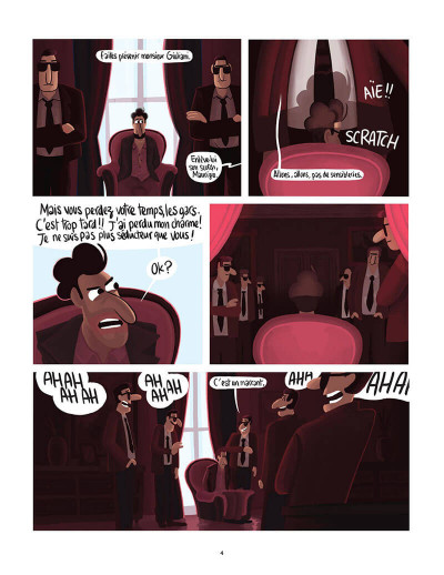 Page 7 Michel - french lover tome 2