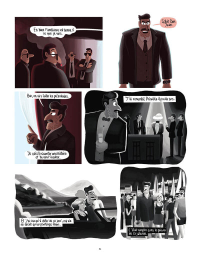 Page 8 Michel - french lover tome 2