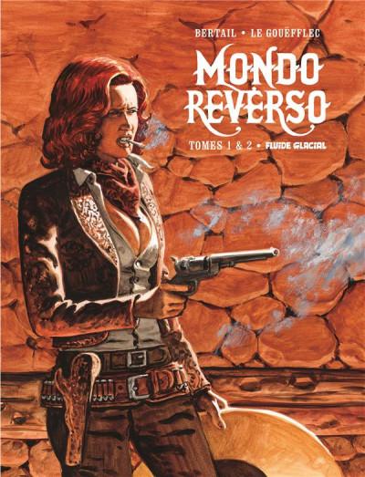 Couverture Mondo reverso - écrin tomes 1 + 2 + poster
