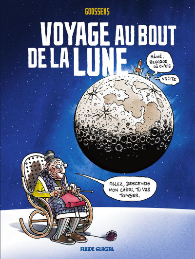 Couverture Voyage au bout de la Lune