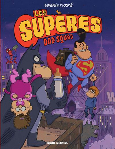 Couverture Les Supères - Dad squad