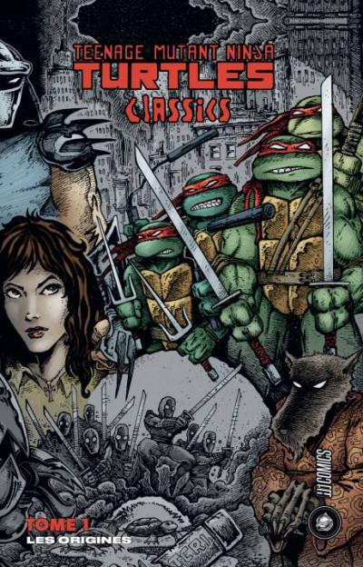 Couverture Les tortues ninja - TMNT classics tome 1